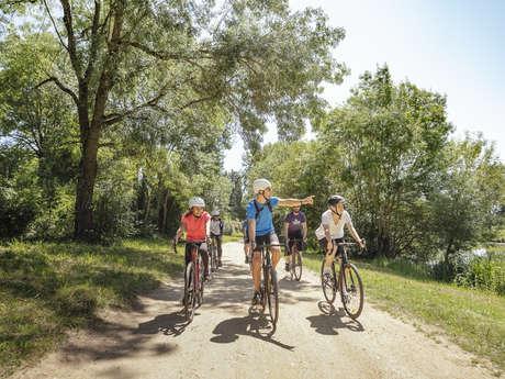 Escapade  Angers Gravel Tour Nature,  au cœur des Basses Vallées Angevines