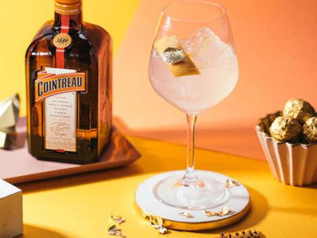 L'art du cocktail gin et Cointreau, de beaux atouts