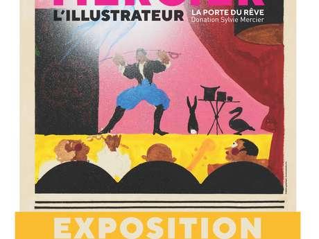 Jean-Adrien Mercier, la Porte du Rêve : l'illustrateur