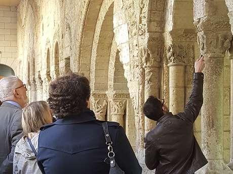Visites commentées de l'été : l'ancienne abbaye Saint-Aubin