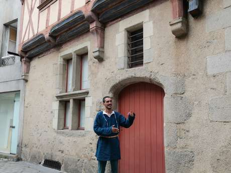 Visite insolite : Angers au temps du bon roi René