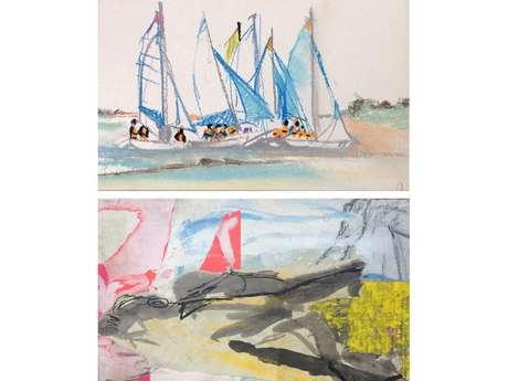 Exposition pastels, peintures et croquis : Corinne et Sarah SIMON