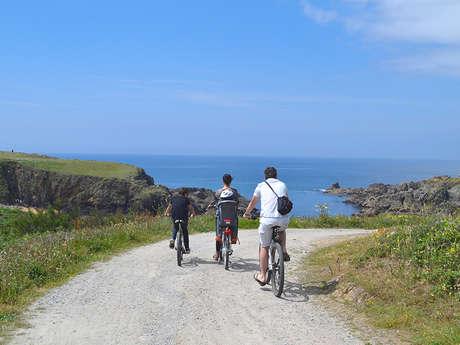 Randonnée à vélo sur l'île d'yeu