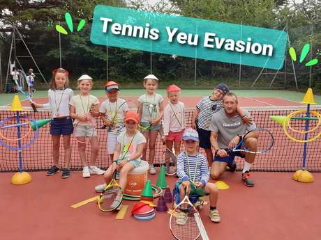 Stage de Tennis avec Tennis Yeu Evasion