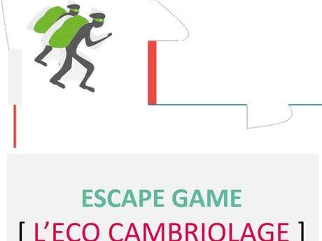 """Animation au Point Info Jeunesse : Escape game """"l'éco cambriolage"""""""