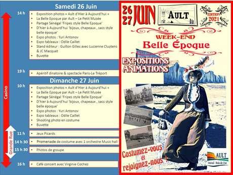 "[ANIMATION CONFIRMEE] - Week-end ""Belle Epoque"""