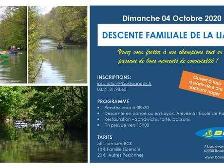 DESCENTE FAMILIALE DE LA LIANE - BCK