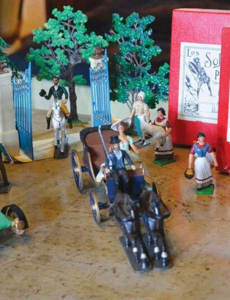 Soldats et figurines de plomb racontent l'Histoire
