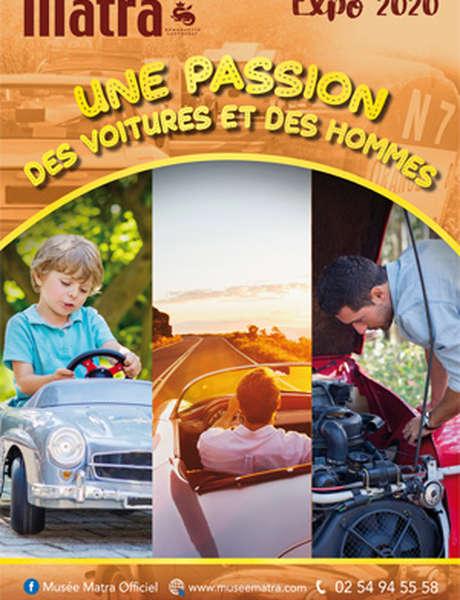 Expo : une passion, des voitures et des hommes (confirmé)