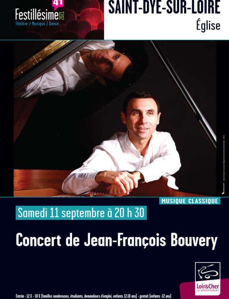 Concert de Jean-François Bouvery