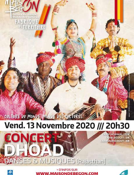 Concert : DHOAD [Les Gitans du Rajasthan]