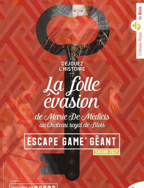 Escape Game La folle évasion de Marie de Médicis !