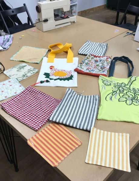 Atelier couture : zéro déchet