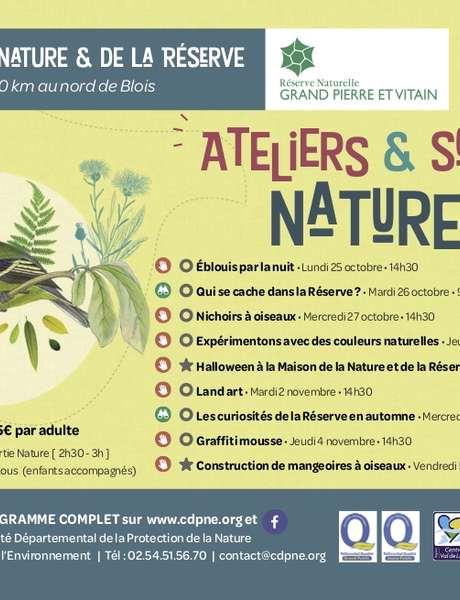 Ateliers & sorties nature