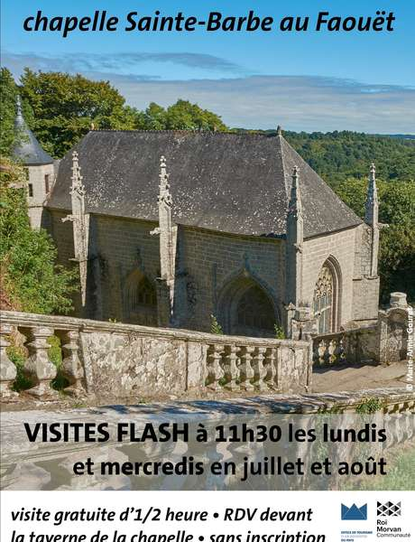 Visites flash à la chapelle Sainte-Barbe