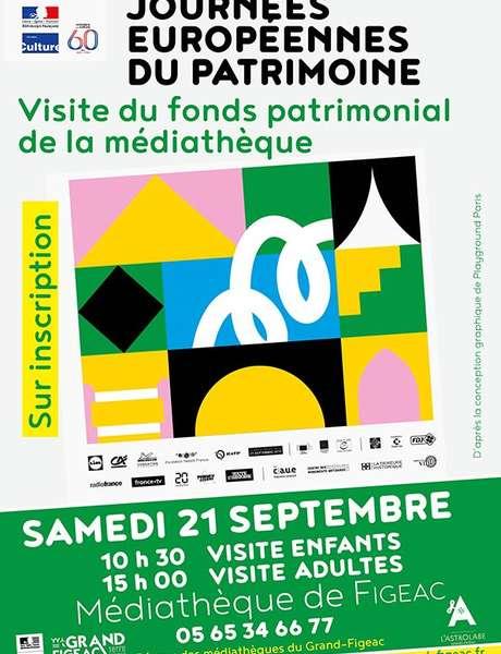 Journées du Patrimoine, Visite du Fonds Patrimonial de la Médiathèque