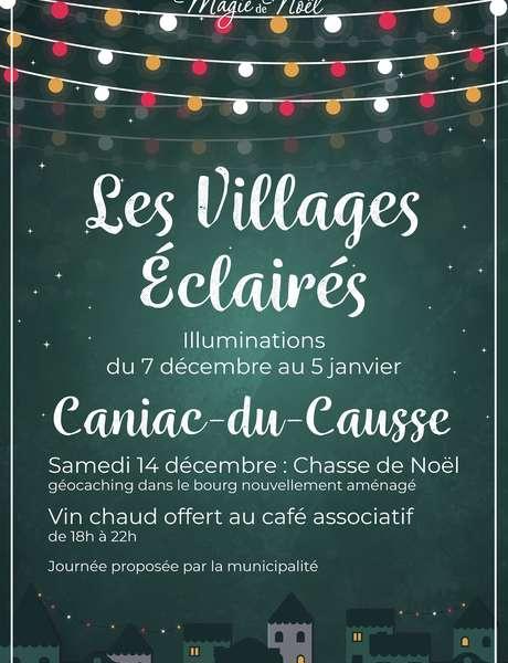Illuminations de Noël à Caniac-du-Causse