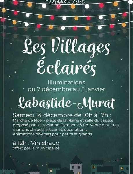 Illuminations de Noël à Labastide-Murat