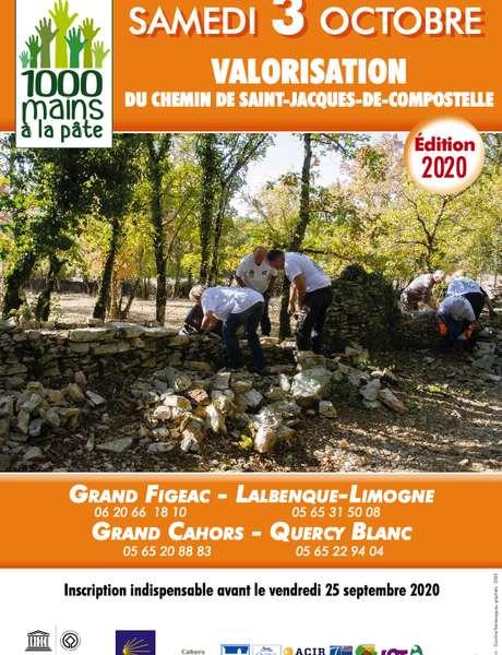 ANNULÉ - 1000 Mains à la Pâte pour le GR65 - 6ème édition (Départ de Lunan)