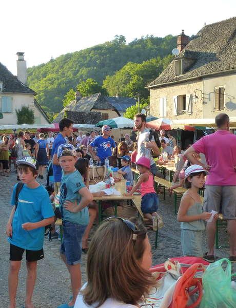 """Marché de Producteurs """"Bienvenue à la Ferme"""" de Pays à Monceaux-sur-Dordogne"""