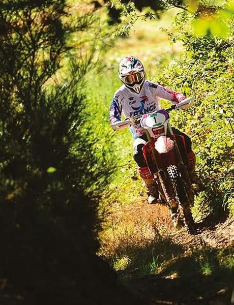 Randonnée Moto Verte