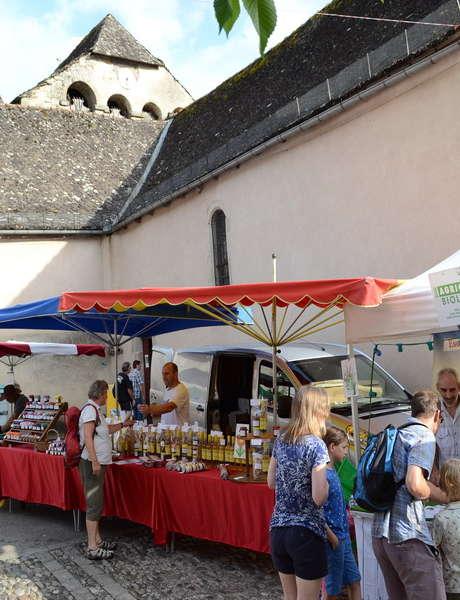 Marché des Producteurs de Pays à Monceaux-sur-Dordogne