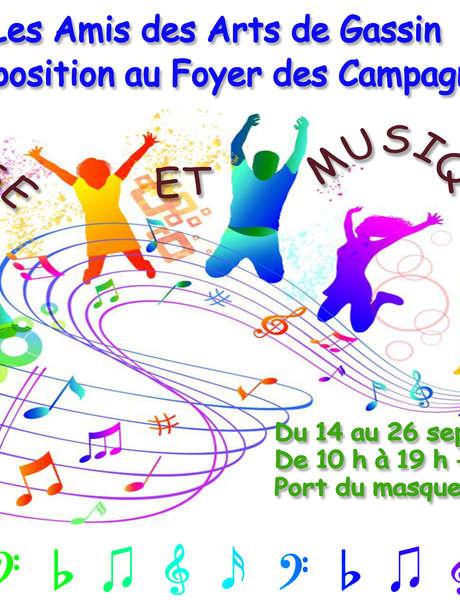 """Les Amis des Arts de Gassin - Expo 2021 - """"Danse et Musique"""""""