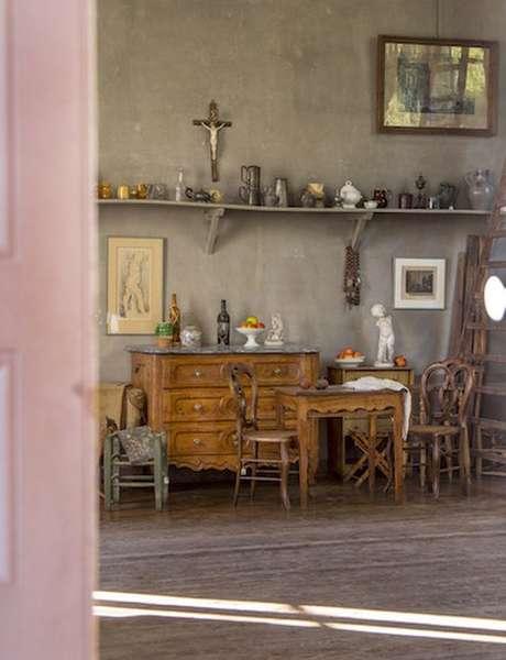 Visite guidée en anglais de l'atelier de Cezanne