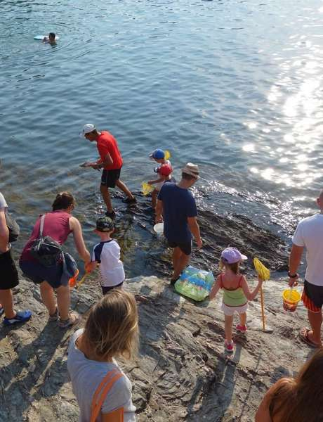 The small coastal course (special children's guided tour)