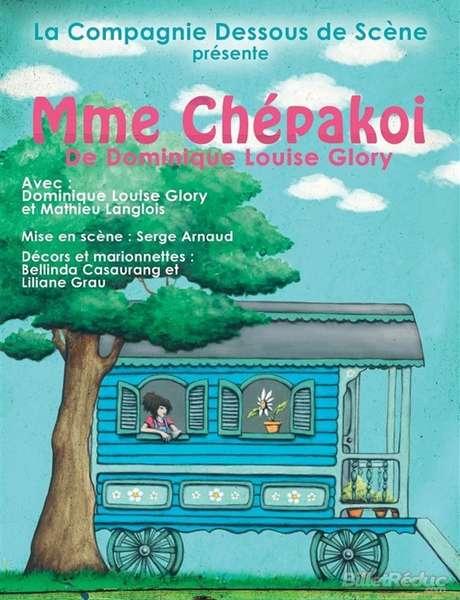 Young audience show - chou theatre - Madame Chépakoi
