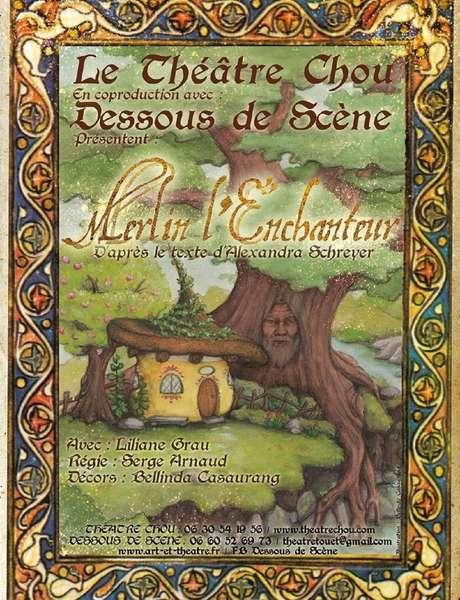 Théâtre jeune public - théâtre chou - Merlin l'enchanteur