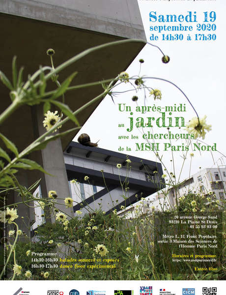 Heritage Days - An afternoon in the garden with researchers from MSH Paris Nord