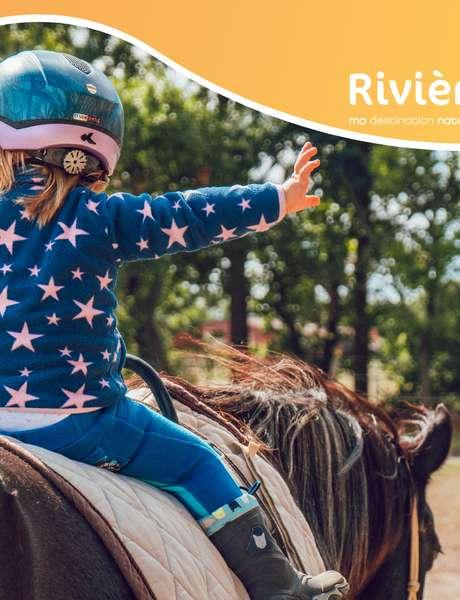 Balade à poney à Rivièr'Alp
