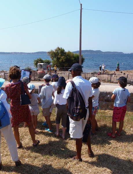 Visites du site archéologique d'Olbia