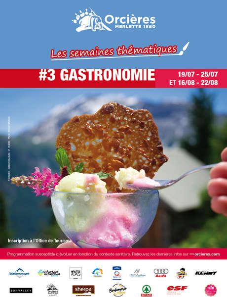 """Semaine à thème """"Gastronomie"""""""
