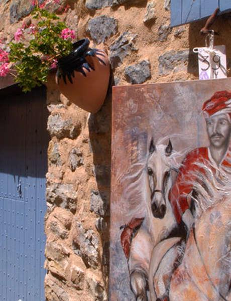 Les Peintres et sculpteurs à l'Epine