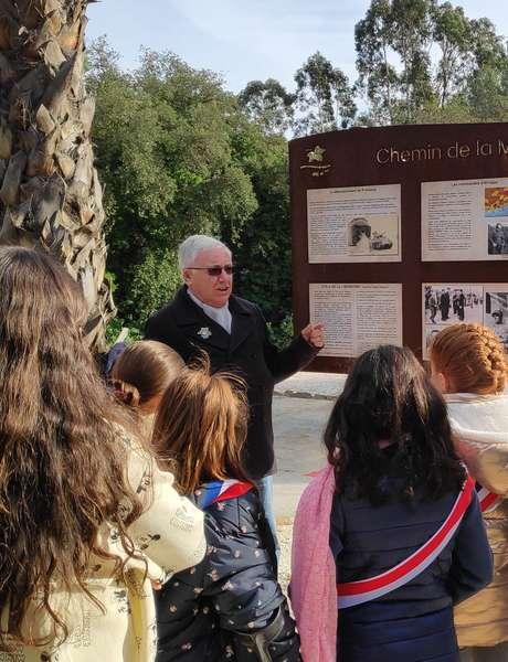 """Guided tour of the """"Chemin de la Mémoire, 1942-1944"""""""
