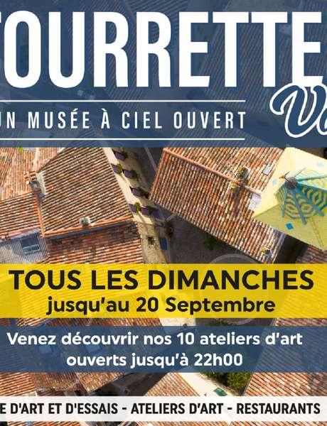 Nocturne des Ateliers d'artistes de Tourrettes