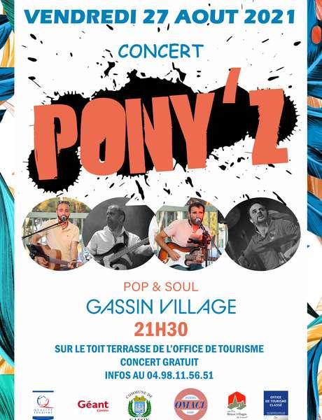 Concert Pony'z