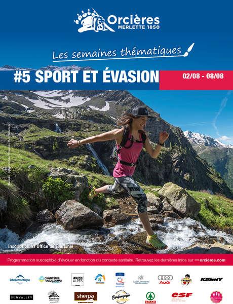 "Semaine à thème ""Sport & Evasion"""