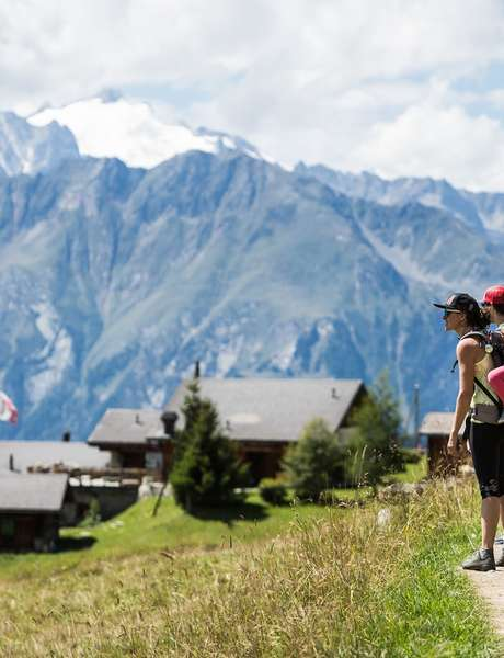Alpine gourmet walk