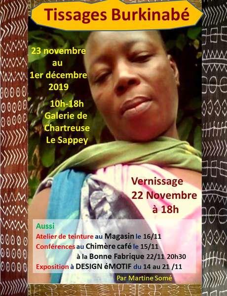 Conférence - Martine Somé, tissages Burkinabé