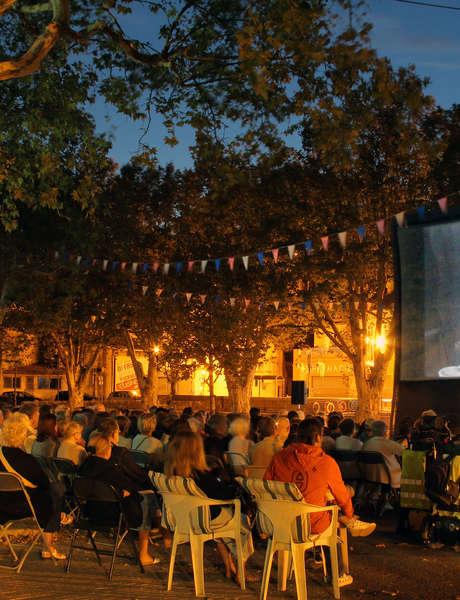 Projection plein air - Cinéma sous les étoiles