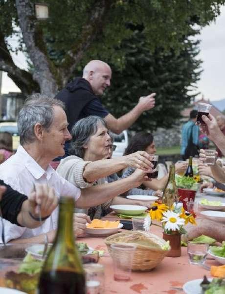 Festival de l'Arpenteur Banquet Pentu