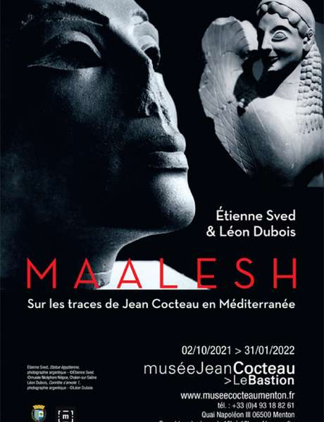 Maalesh exhibition, in the footsteps of Jean Cocteau in the Mediterranean