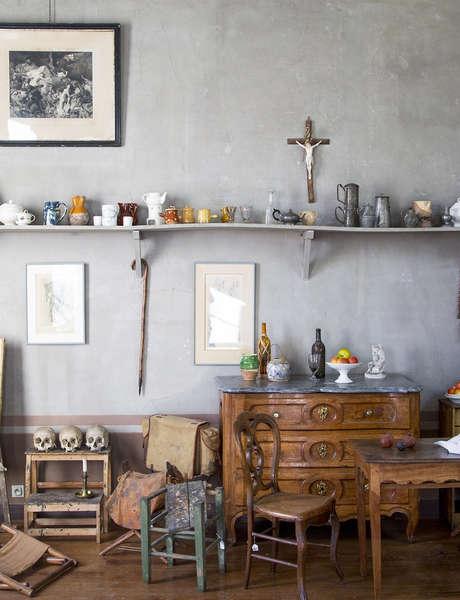 Visite guidée en français de l'atelier de Cezanne