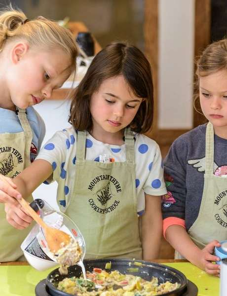 Cookery workshop for children