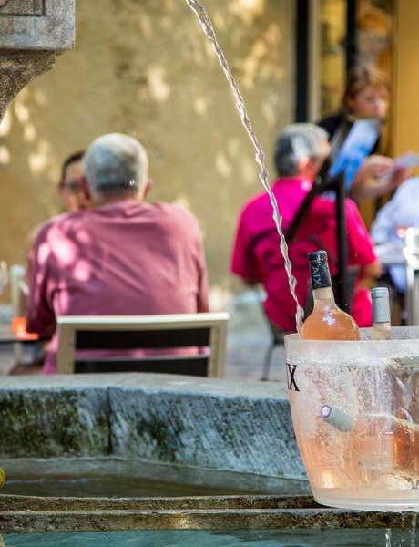 Aperitif season in Aix-en-Provence