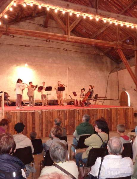 """Concert de fin de stage """"Les Musicales du Haut Verdon"""""""