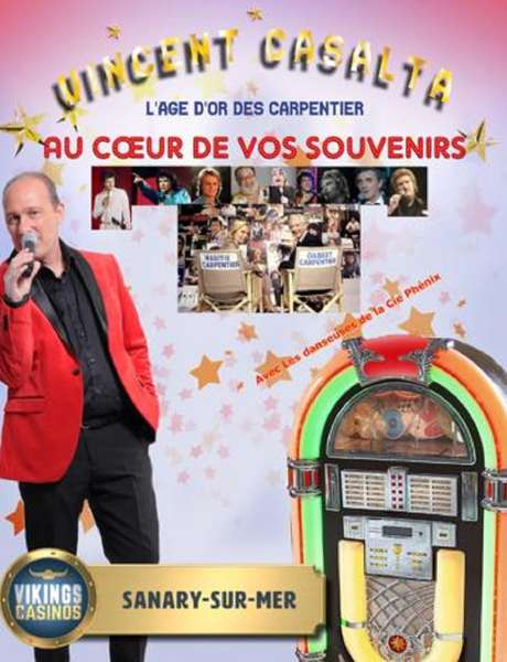 Concert : Au coeur de vos souvenirs - Soirée Carpentier